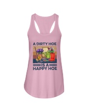 Vintage A Dirty Hoe Is A Happy Hoe Shirt Ladies Flowy Tank thumbnail