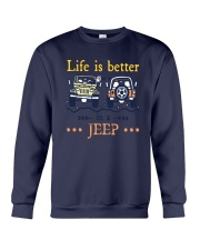 Life Is Better In A Jeep Shirt Crewneck Sweatshirt thumbnail