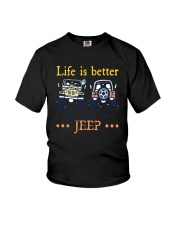 Life Is Better In A Jeep Shirt Youth T-Shirt thumbnail