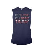 Peace And Love Pray For President Trump Shirt Sleeveless Tee thumbnail
