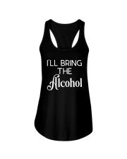 I'll Bring The Alcohol Shirt Ladies Flowy Tank thumbnail