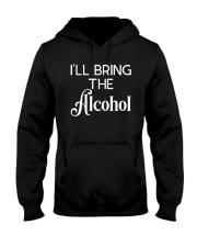 I'll Bring The Alcohol Shirt Hooded Sweatshirt thumbnail