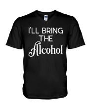 I'll Bring The Alcohol Shirt V-Neck T-Shirt thumbnail