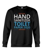 Hand Sanitizer Toilet Paper 2020 Shirt Crewneck Sweatshirt thumbnail