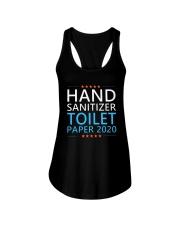 Hand Sanitizer Toilet Paper 2020 Shirt Ladies Flowy Tank thumbnail