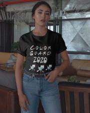 Color Guard 2020 Quarantined Shirt Classic T-Shirt apparel-classic-tshirt-lifestyle-05