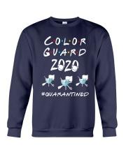 Color Guard 2020 Quarantined Shirt Crewneck Sweatshirt thumbnail