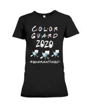 Color Guard 2020 Quarantined Shirt Premium Fit Ladies Tee thumbnail
