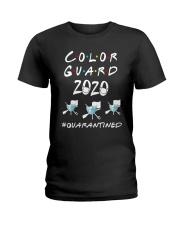Color Guard 2020 Quarantined Shirt Ladies T-Shirt thumbnail