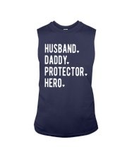 Official Husband Daddy Protector Hero Shirt Sleeveless Tee thumbnail
