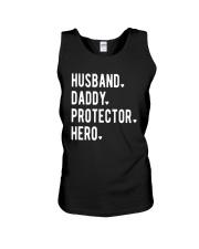 Official Husband Daddy Protector Hero Shirt Unisex Tank thumbnail