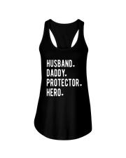 Official Husband Daddy Protector Hero Shirt Ladies Flowy Tank thumbnail