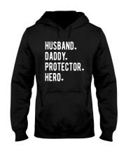 Official Husband Daddy Protector Hero Shirt Hooded Sweatshirt thumbnail