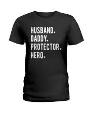 Official Husband Daddy Protector Hero Shirt Ladies T-Shirt thumbnail