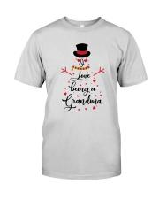 Snowman I Love Being A Grandma Shirt Premium Fit Mens Tee thumbnail