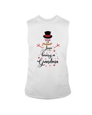 Snowman I Love Being A Grandma Shirt Sleeveless Tee thumbnail