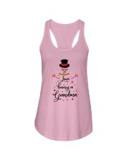Snowman I Love Being A Grandma Shirt Ladies Flowy Tank thumbnail