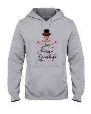 Snowman I Love Being A Grandma Shirt Hooded Sweatshirt thumbnail