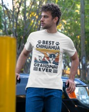 Vintage Best Chihuahua Grandpaw Ever Shirt Classic T-Shirt apparel-classic-tshirt-lifestyle-front-44