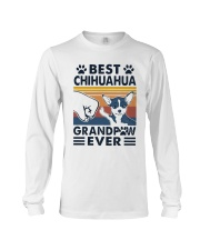 Vintage Best Chihuahua Grandpaw Ever Shirt Long Sleeve Tee thumbnail