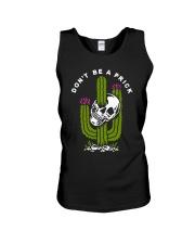 Skull Don't Be A Prick Shirt Unisex Tank thumbnail
