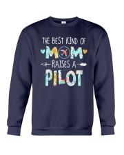 The Best Kind Of Mom Raises A Pilot Shirt Crewneck Sweatshirt thumbnail