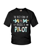 The Best Kind Of Mom Raises A Pilot Shirt Youth T-Shirt thumbnail