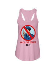 Fuck The Police Shirt Ladies Flowy Tank thumbnail
