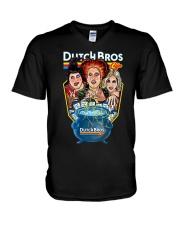 Hocus Pocus Dutch Bros Shirt V-Neck T-Shirt thumbnail