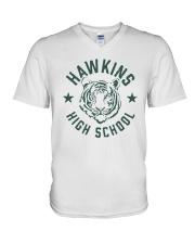 Johnny Hawkins High School Shirt V-Neck T-Shirt thumbnail
