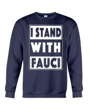 I Stand With Fauci T Shirt Amazon Crewneck Sweatshirt thumbnail