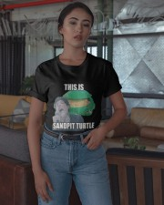 This Is Sandpit Turtle Shirt Classic T-Shirt apparel-classic-tshirt-lifestyle-05