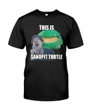 This Is Sandpit Turtle Shirt Classic T-Shirt front