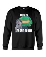 This Is Sandpit Turtle Shirt Crewneck Sweatshirt thumbnail