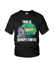 This Is Sandpit Turtle Shirt Youth T-Shirt thumbnail