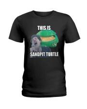 This Is Sandpit Turtle Shirt Ladies T-Shirt thumbnail