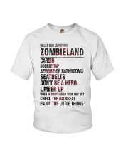 Rules For Surviving Zombie Land Cardio Shirt Youth T-Shirt thumbnail
