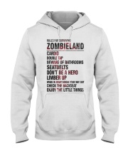 Rules For Surviving Zombie Land Cardio Shirt Hooded Sweatshirt thumbnail