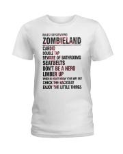 Rules For Surviving Zombie Land Cardio Shirt Ladies T-Shirt thumbnail