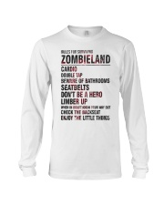 Rules For Surviving Zombie Land Cardio Shirt Long Sleeve Tee thumbnail