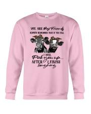 Heifer We Are Best Friends Always Remember Shirt Crewneck Sweatshirt thumbnail