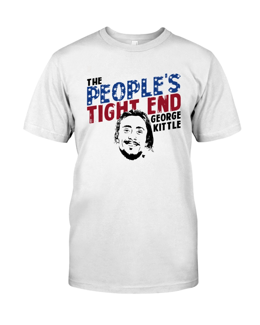 The People's Tight End George Kittle Shirt Classic T-Shirt