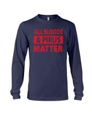 All Bloods And Pirus Matter Shirt Long Sleeve Tee thumbnail