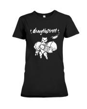 Robot Cat Danny The Street Shirt Premium Fit Ladies Tee thumbnail
