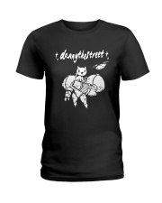 Robot Cat Danny The Street Shirt Ladies T-Shirt thumbnail