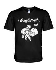 Robot Cat Danny The Street Shirt V-Neck T-Shirt thumbnail