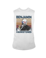 Vintage Drinking Beer Benjamin Harristoned Shirt Sleeveless Tee thumbnail