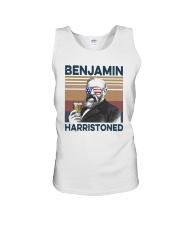 Vintage Drinking Beer Benjamin Harristoned Shirt Unisex Tank thumbnail