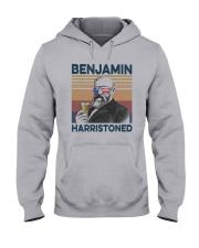 Vintage Drinking Beer Benjamin Harristoned Shirt Hooded Sweatshirt thumbnail