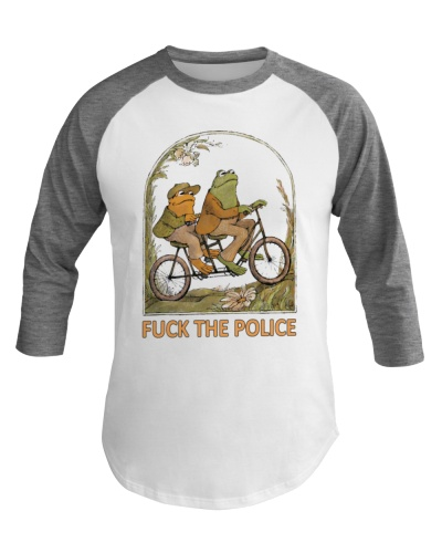 Fuck The Police Frog Shirt